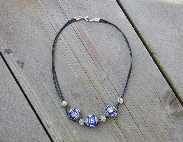 Ketting Indonesia navy blue
