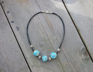 Ketting Indonesia Turquoise