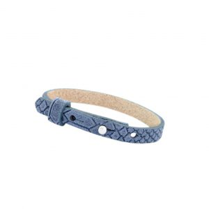 cuoio armband light denim blue